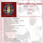 Light's Glittering Morn: Lent to Easter